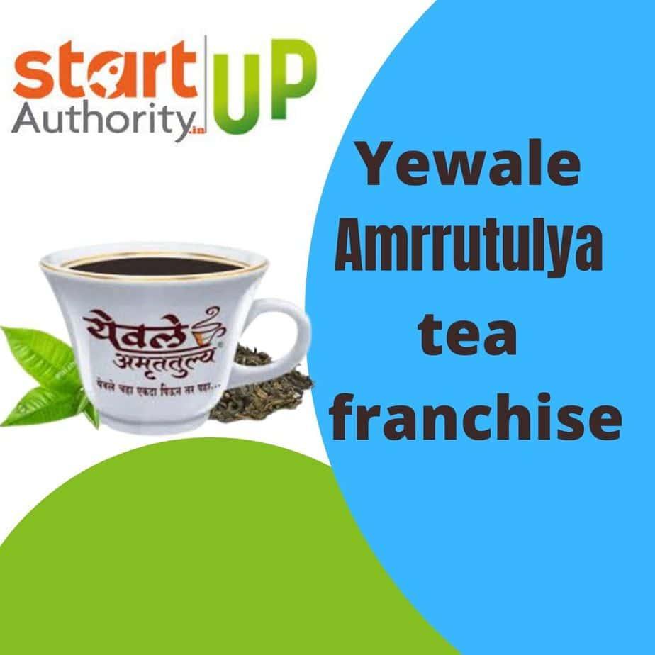 yewale tea franchise