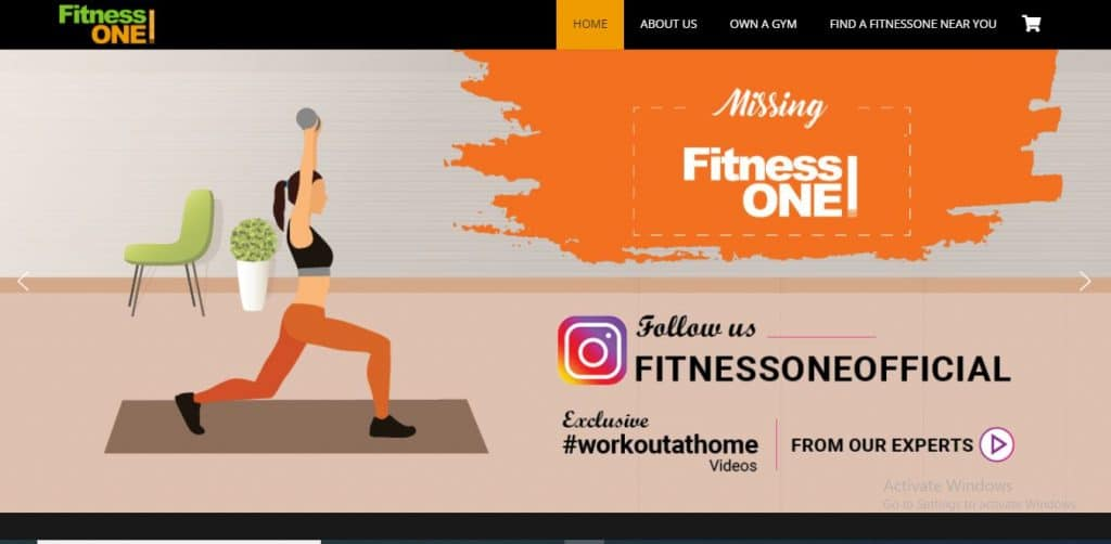 fitnessone gym franchise