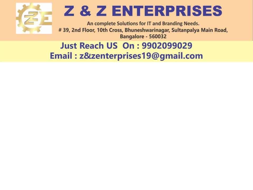 Z AND Z ENTERPRISES